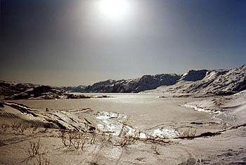 ...en Groenlandia...
